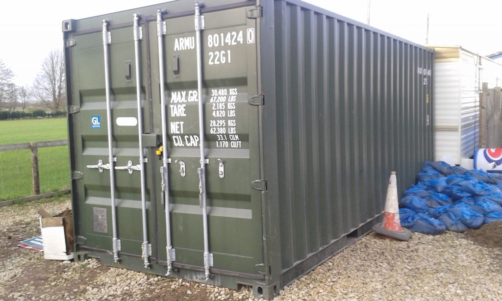 Storage at your house or site 29